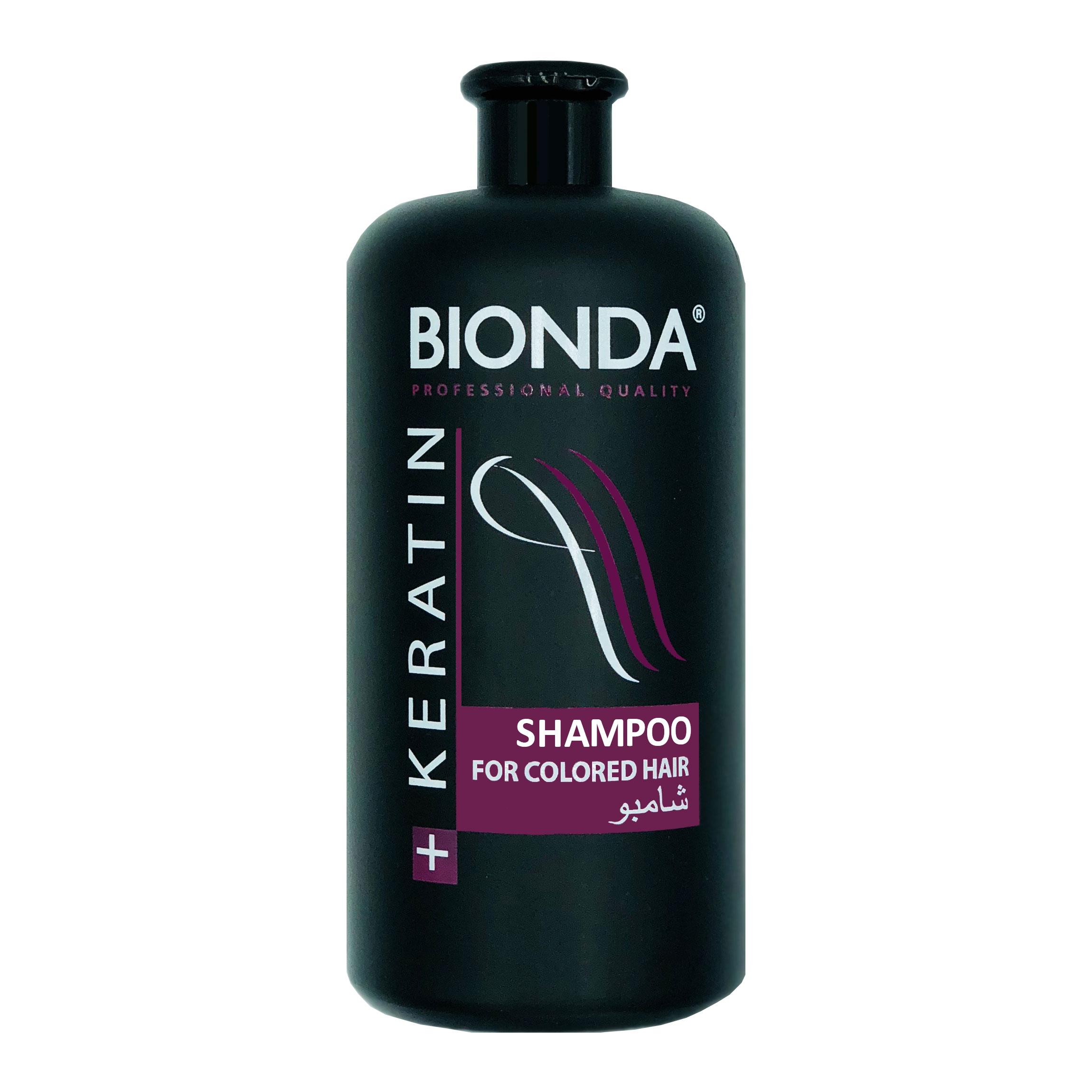 Bionda Professional Шампунь с Кератином для окрашенных волос 1000 мл