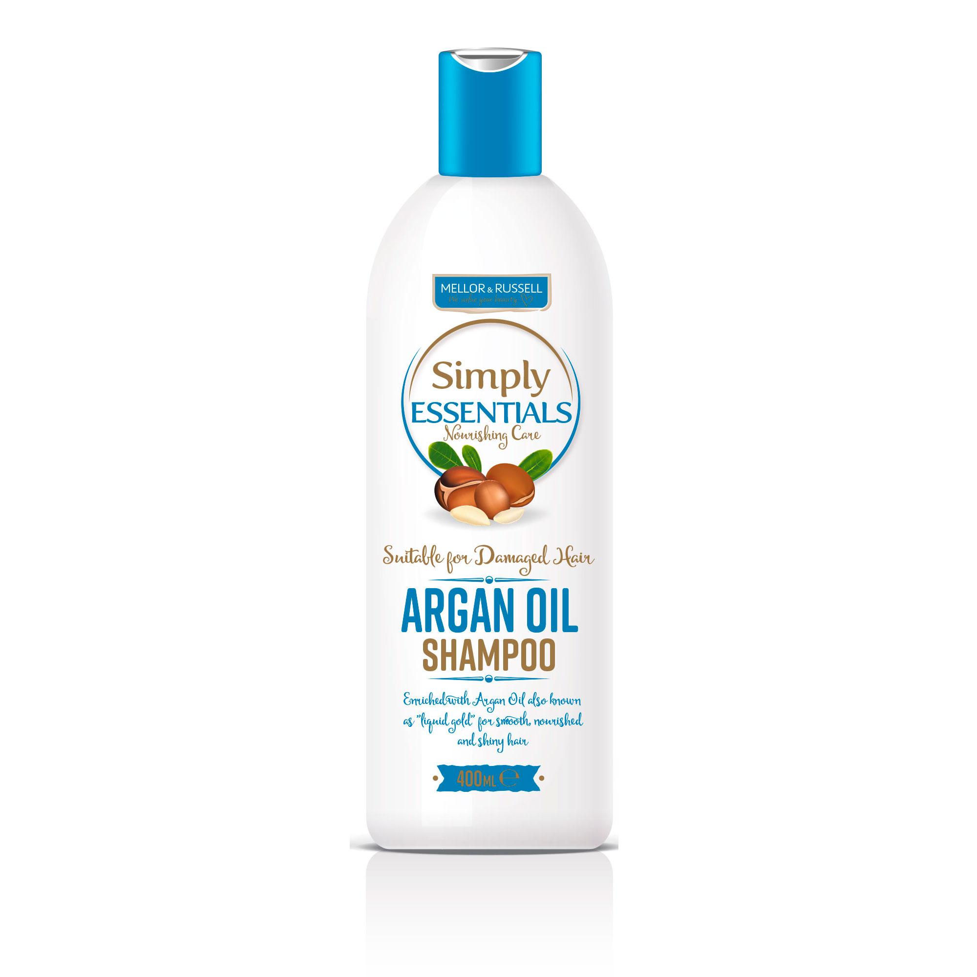 Simply Essentials Argan Oil Шампунь для волос с Аргановым маслом 400 мл
